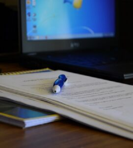 Paperwork documenting medical details against denied health insurance claims